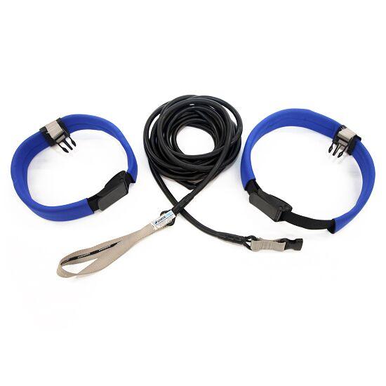 Ceinture longue StrechCordz® Aqua-Gym Argent, résistance 1,3-3,6 kg