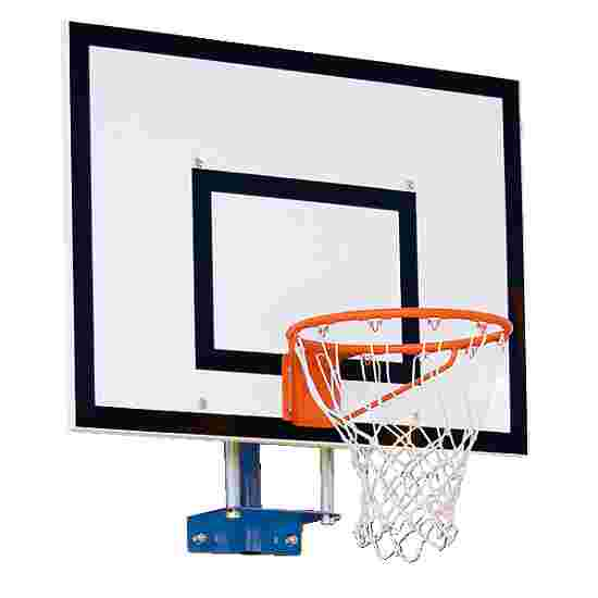Châssis mural pour but de basket Sport-Thieme, modèle fixe Avec réglage en hauteur