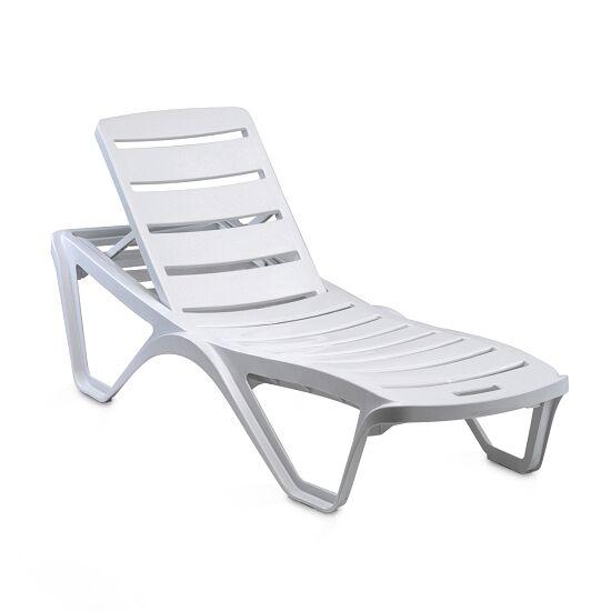 Chaise longue en plastique « Capriccio » Blanc