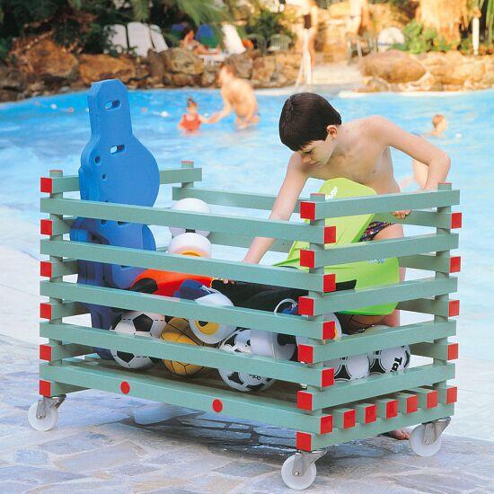 Chariot de rangement en plastique REA® Modèle ouvert