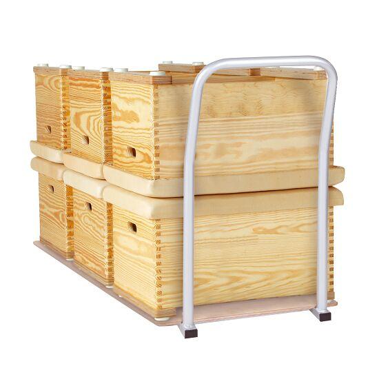 Chariot de transport pour plinths de 1 et 3 caissons