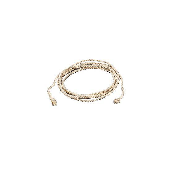 Corde à sauter en fibre douce (4 torons tressés)