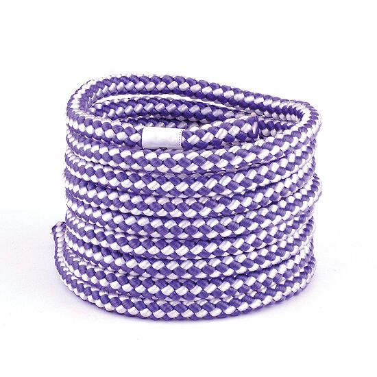 Corde de gymnastique Sport-Thieme® « Dual Color » Violet-blanc