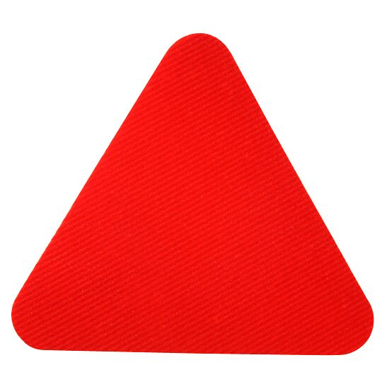 Dalles de gym Sport-Thieme Rouge, Triangle, 30 cm de côté