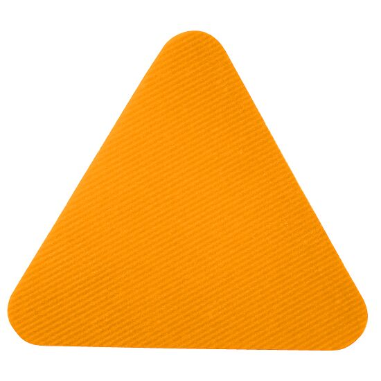 Dalles de gym Sport-Thieme Orange, Triangle, 30 cm de côté