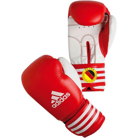 De Adidas® wedstrijd bokshandschoenen Ultima Rigid Cuff Rood, 12 ons.