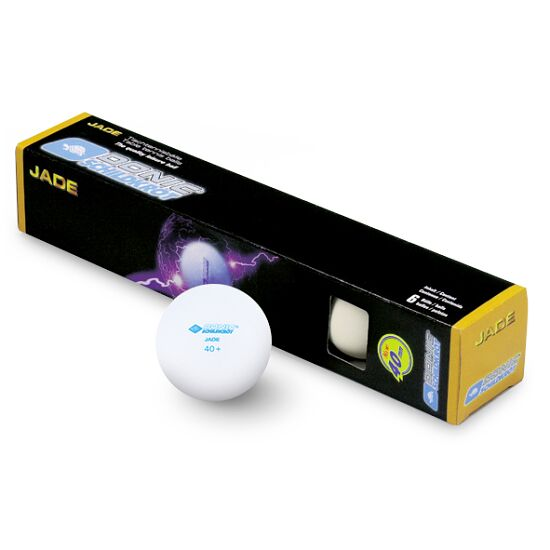 """Donic® Schildkröt Tafeltennisballen """"Jade"""" Witte balletjes"""