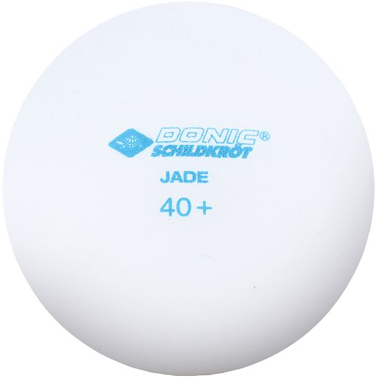 """Donic Schildkröt Tafeltennisballen """"Jade"""" Witte balletjes"""