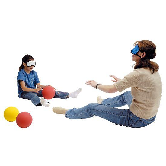 Donkere Bril Voor kinderen: 18x8.5 cm, blauw en wit gestreept