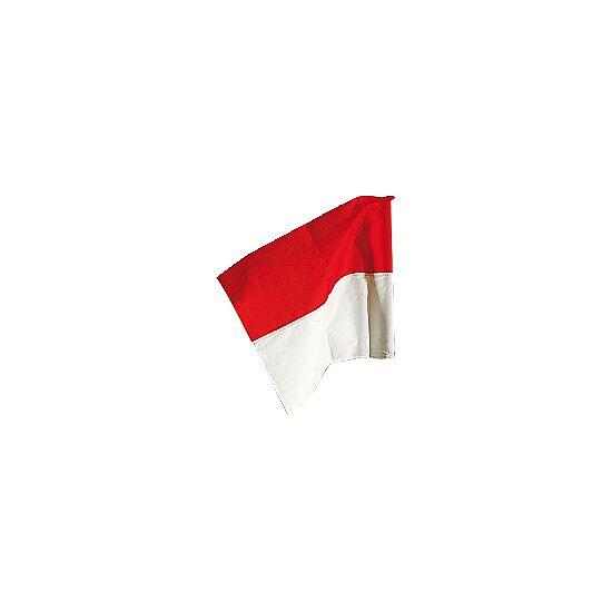 Drapeau Sport-Thieme pour poteau de délimitation ø 50 mm Rouge-blanc