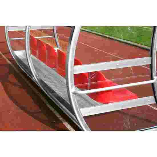 """Dug-out """"Exclusiv"""" 3,00 m breed, 6 zitplaatsen, Zonder voetverwarming"""