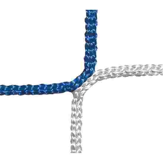 Filet de protection et d'arrêt, mailles 12 cm Bleu-Blanc, ø 4,00 mm