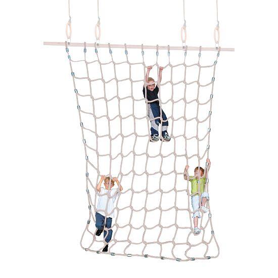 Filet d'escalade Sport-Thieme® Fibre discontinue souple, couleurs naturelles, 3x2,5 m