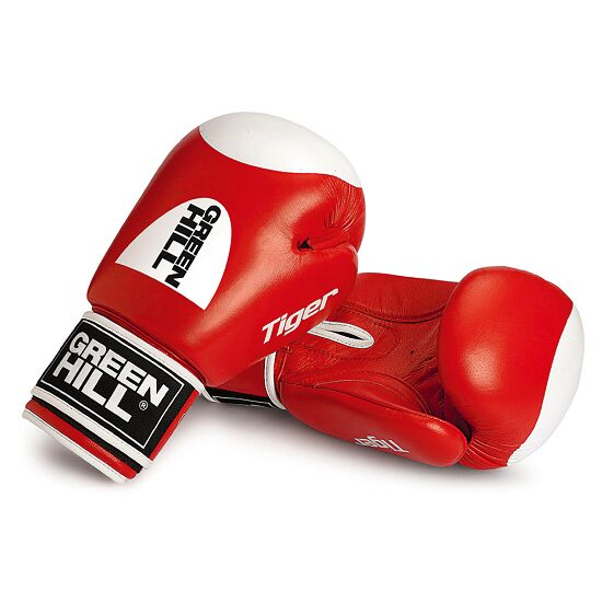 Gants de boxe Green Hill® « Tiger » 12 oz., rouge