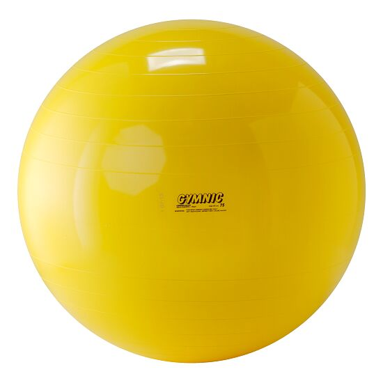 Gymnic® Gymnastiekbal Geel, ø 75 cm, 1.600 g
