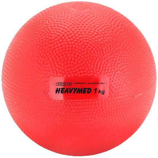 Gymnic® Heavymed 1.000 g, ø 12 cm, rood