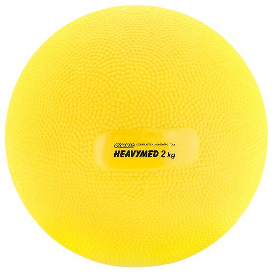 Gymnic® Heavymed 2.000 g, ø 15 cm, geel