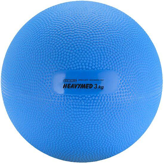 Gymnic® Heavymed 3.000 g, ø 17 cm, blauw