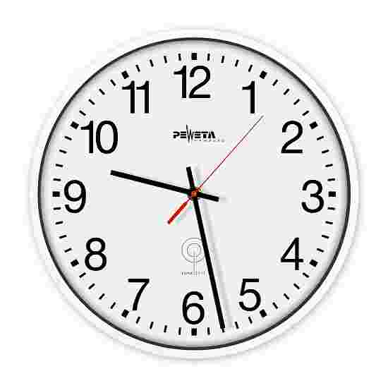 Horloge murale radiopilotée Peweta en plastique Cadran avec chiffres arabes