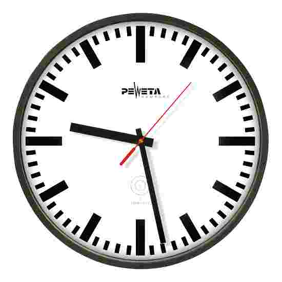 Horloge murale radiopilotée Peweta en plastique Cadran avec index