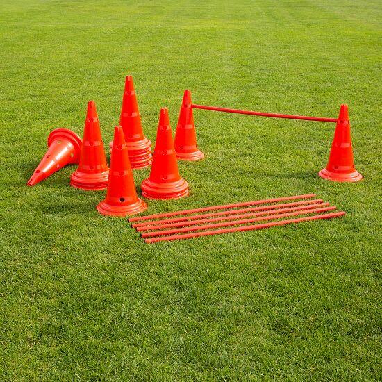 Kegel-Horden-Set 50 cm, rood