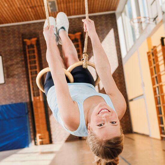 Kit anneaux de gymnastique pour l'intérieur