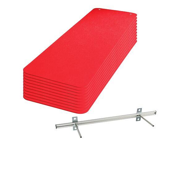 Kit de nattes de gymnastique Sport-Thieme® « Fit&Fun » Rouge