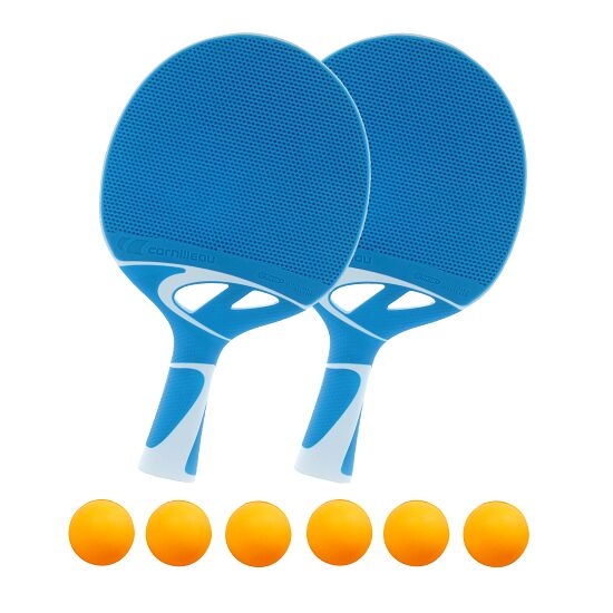 Kit de raquettes de tennis de table Cornilleau® « Tacteo 30 » Balles orange