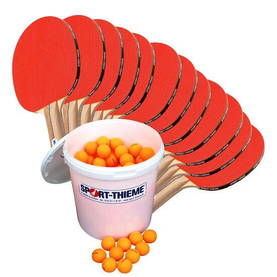 Kit de tennis de table Sport-Thieme® « Rome » – Spécial École Balles orange