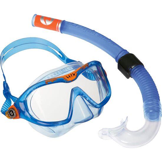 Kit tuba professionnel « Reef » pour enfants Bleu transparent