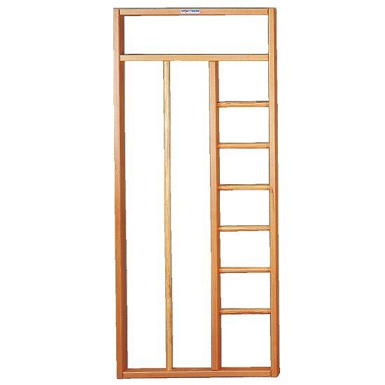 Klimpaal met ladder