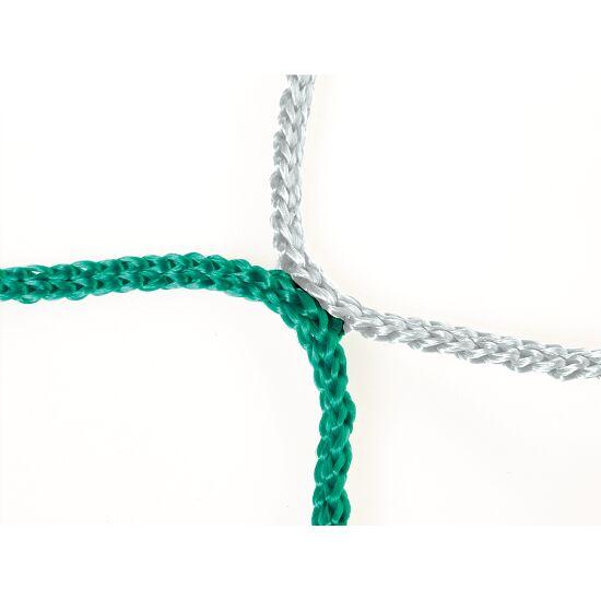 Knopenloos Herenvoetbaldoelnet 750x250 cm Groen-wit