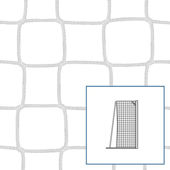Knopenloos Kleinveld- en Handbaldoelnet Wit