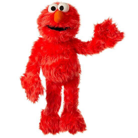 Living Puppets® Handpoppen uit Sesamstraat® Elmo