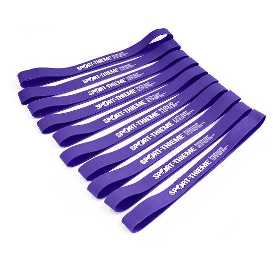Lot de 10 bandes élastiques Sport-Thieme® Violet, difficile