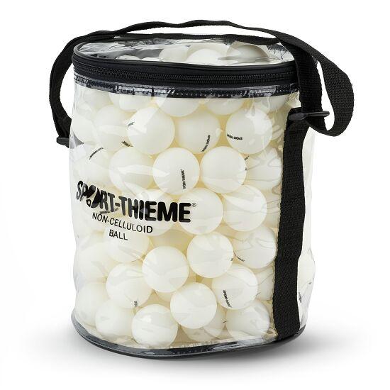 Lot de balles de tennis de table Sport-Thieme® avec sac Balles blanches