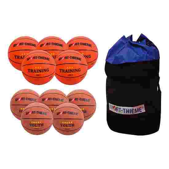 Lot de ballons de basket Sport-Thieme « Relève » Jeune (Taille 6)