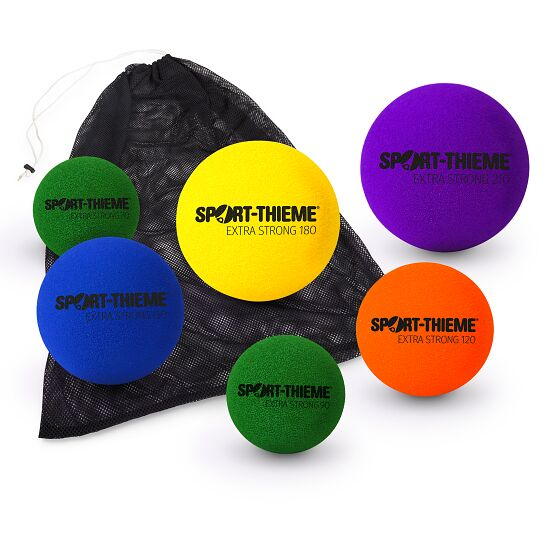 Lot de ballons en mousse molle Sport-Thieme® « Extra Strong »