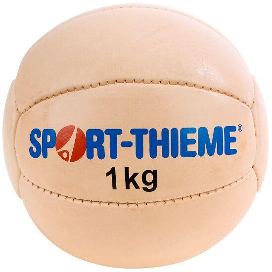 Medecine ball Sport-Thieme « Classique » 1 kg, ø 19 cm