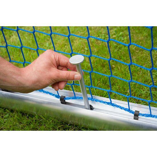 Mini but d'entraînement en alu Sport-Thieme® « Safety » 1,20x0,80 m, profondeur 0,70 m, Filet inclus, vert (mailles 10 cm)