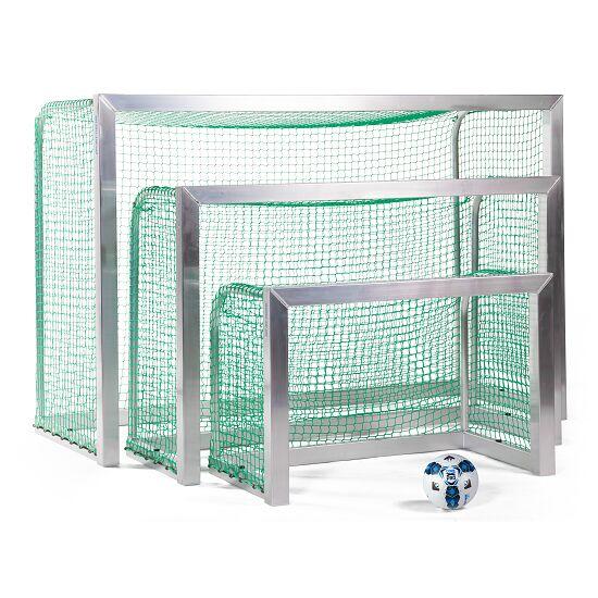 Minibut d'entraînement Sport-Thieme® entièrement soudé 1,20x0,80 m, profondeur 0,70 m, Filet inclus, vert (mailles 4,5 cm)