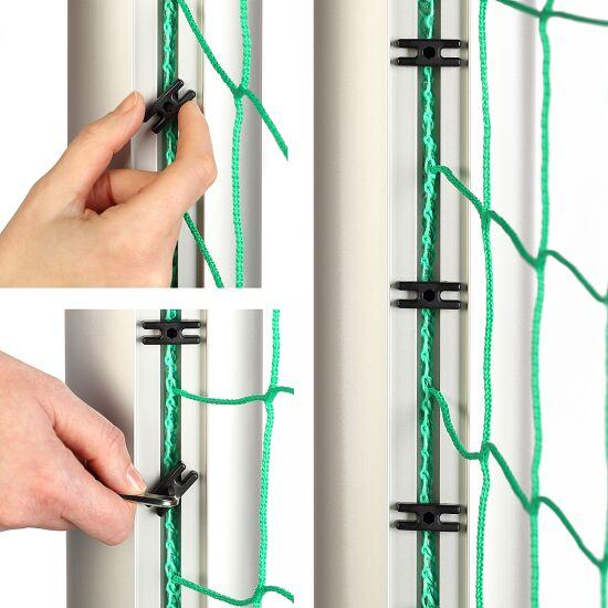 Minibut d'entraînement Sport-Thieme® entièrement soudé 1,20x0,80 m, profondeur 0,70 m, Filet inclus, vert (mailles 10 cm)