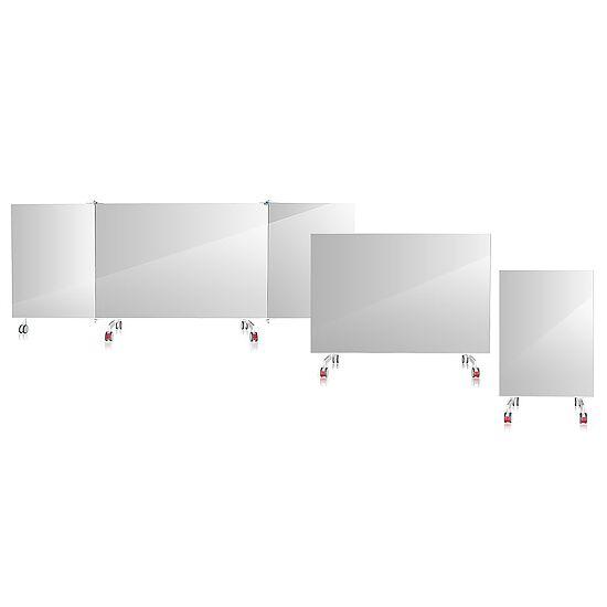 Miroir en cristal mobile 1 pce., 1,25x1,94 m (lxH)