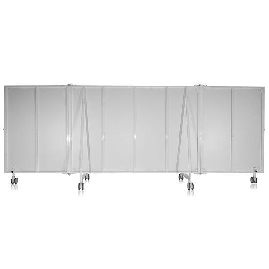 Miroir en cristal mobile 3 pces., pliable, 4,00x1,98 m (lxH)
