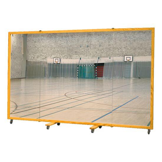Miroir mural roulant 300x180 cm Sans film de protection contre les éclats