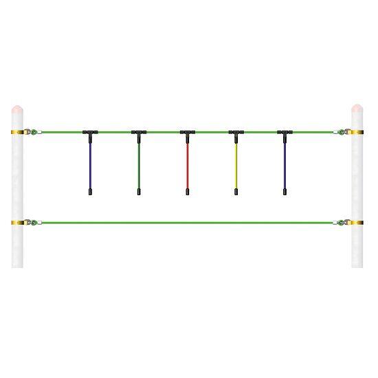 Modules de parcours, individuels (sans poteaux) Cordes suspendues