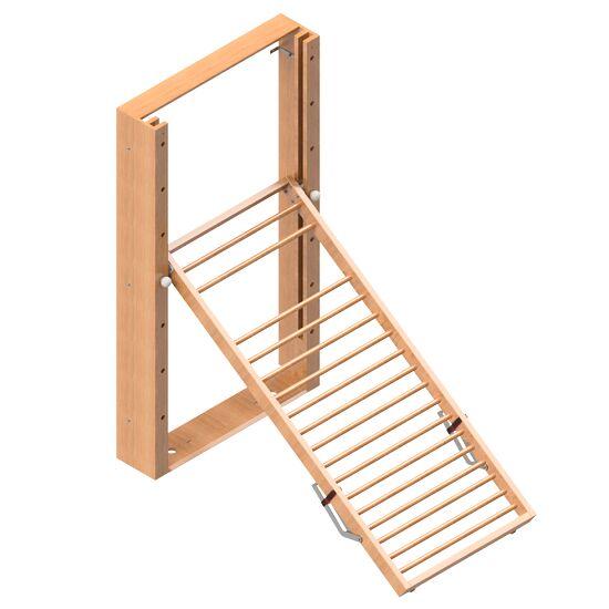 Mur d'escalade Sport-Thieme® rabattable Espalier, Sans tapis de protection antichute