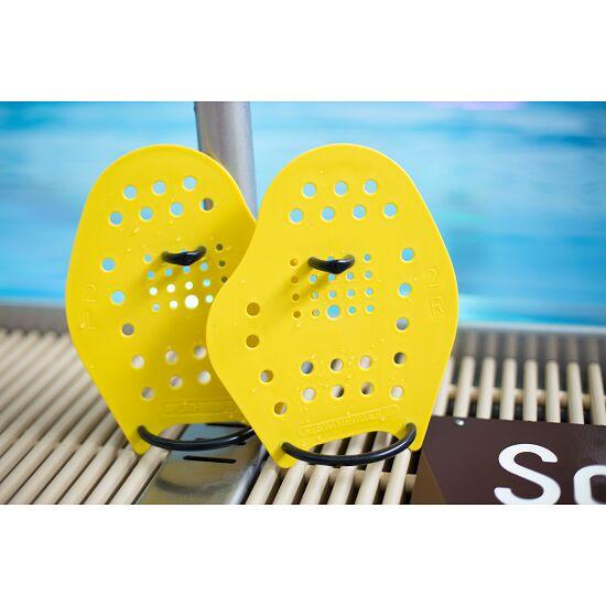 Paddles Sport-Thieme® Swim-Power® Taille M, 21x18 cm, Jaune