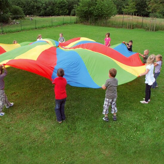 Parachute Sport-Thieme® avec poignées ø 3,5 m, 8 poignées