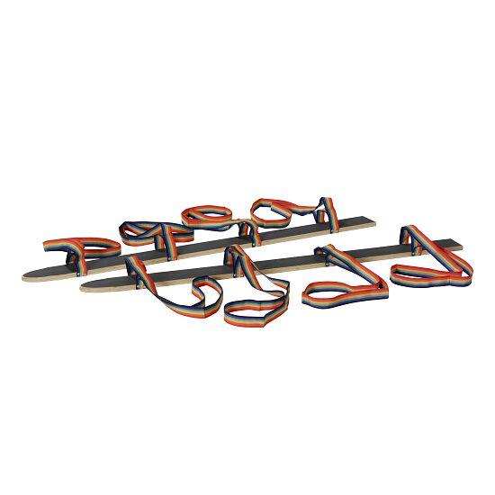 """Pedalo® zomerski met """"handlus"""" Lengte 160 cm voor 4 personen."""